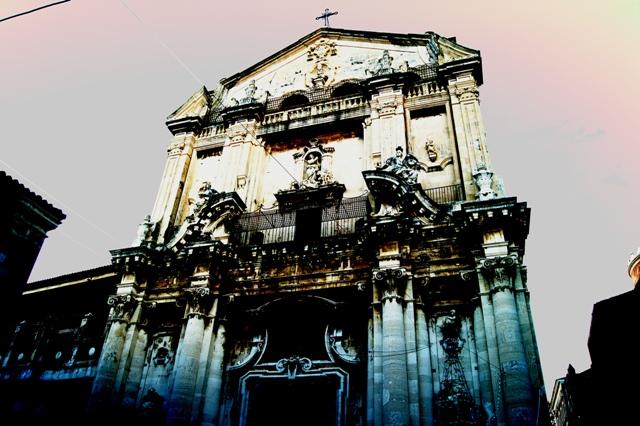 Catania Via Crociferi