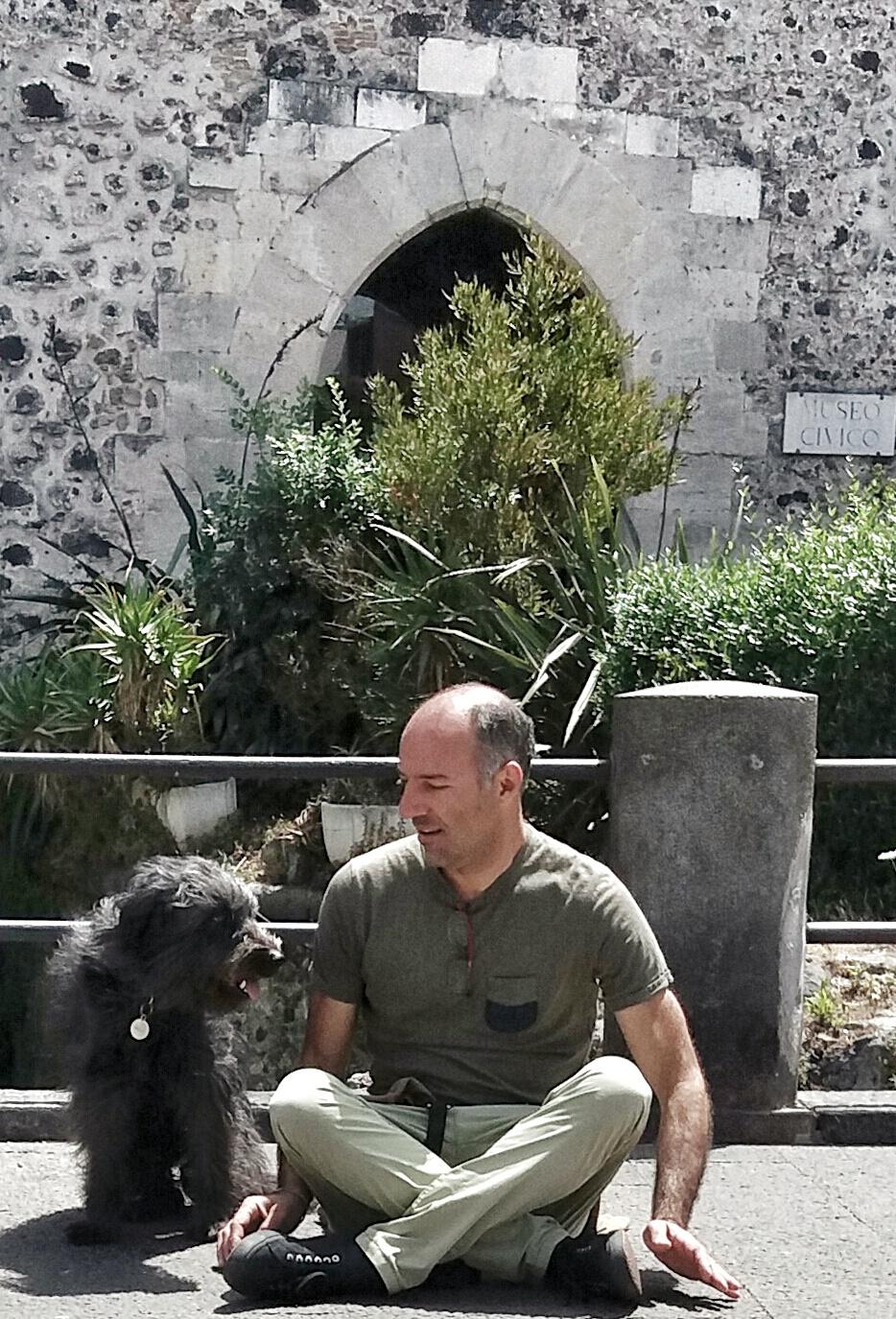 Mia e Claudio Castello Ursino Catania