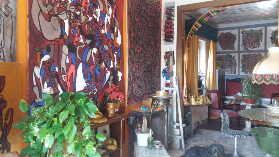 studio casa museo sotto l'etna