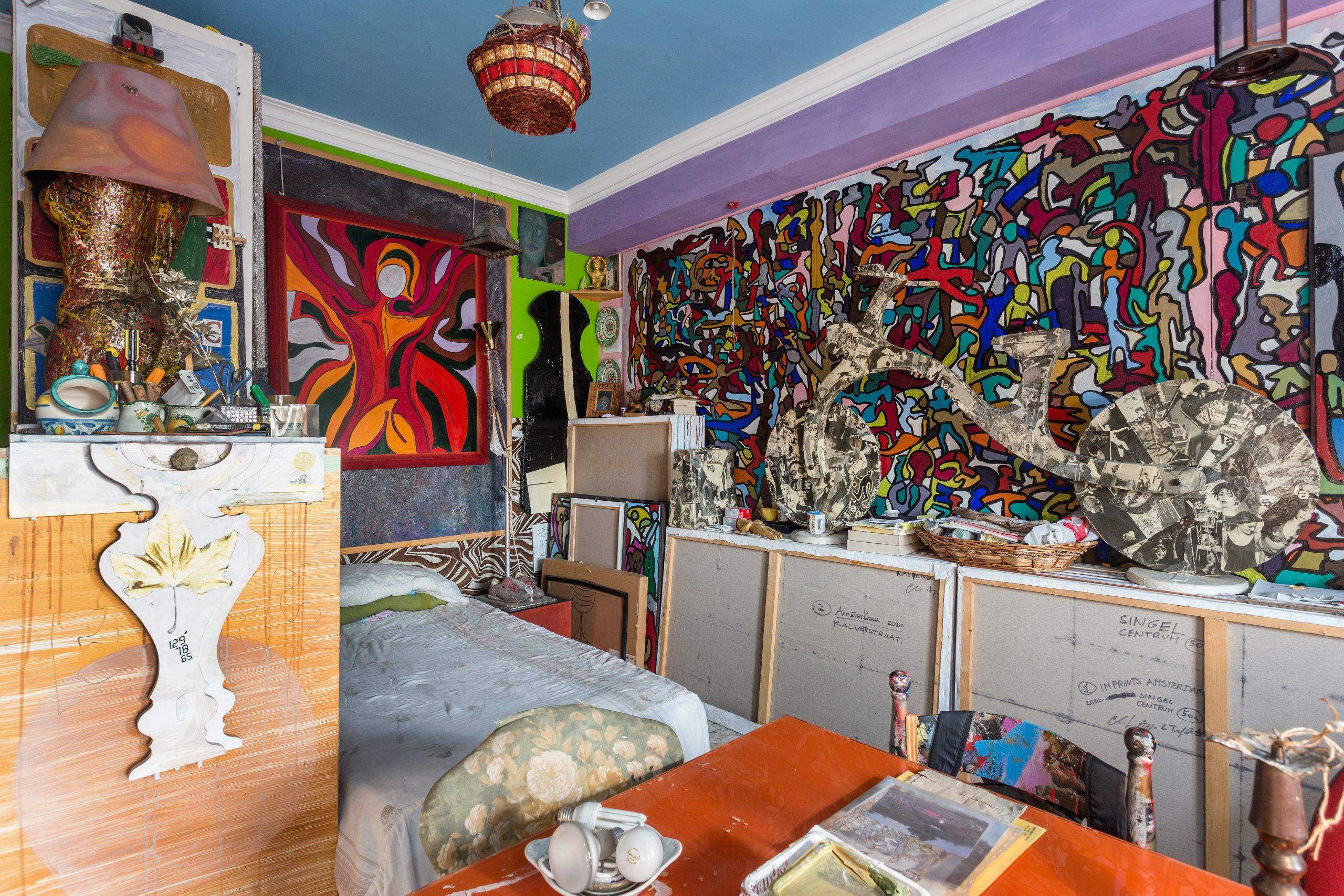 studio contemporary artist in sicily