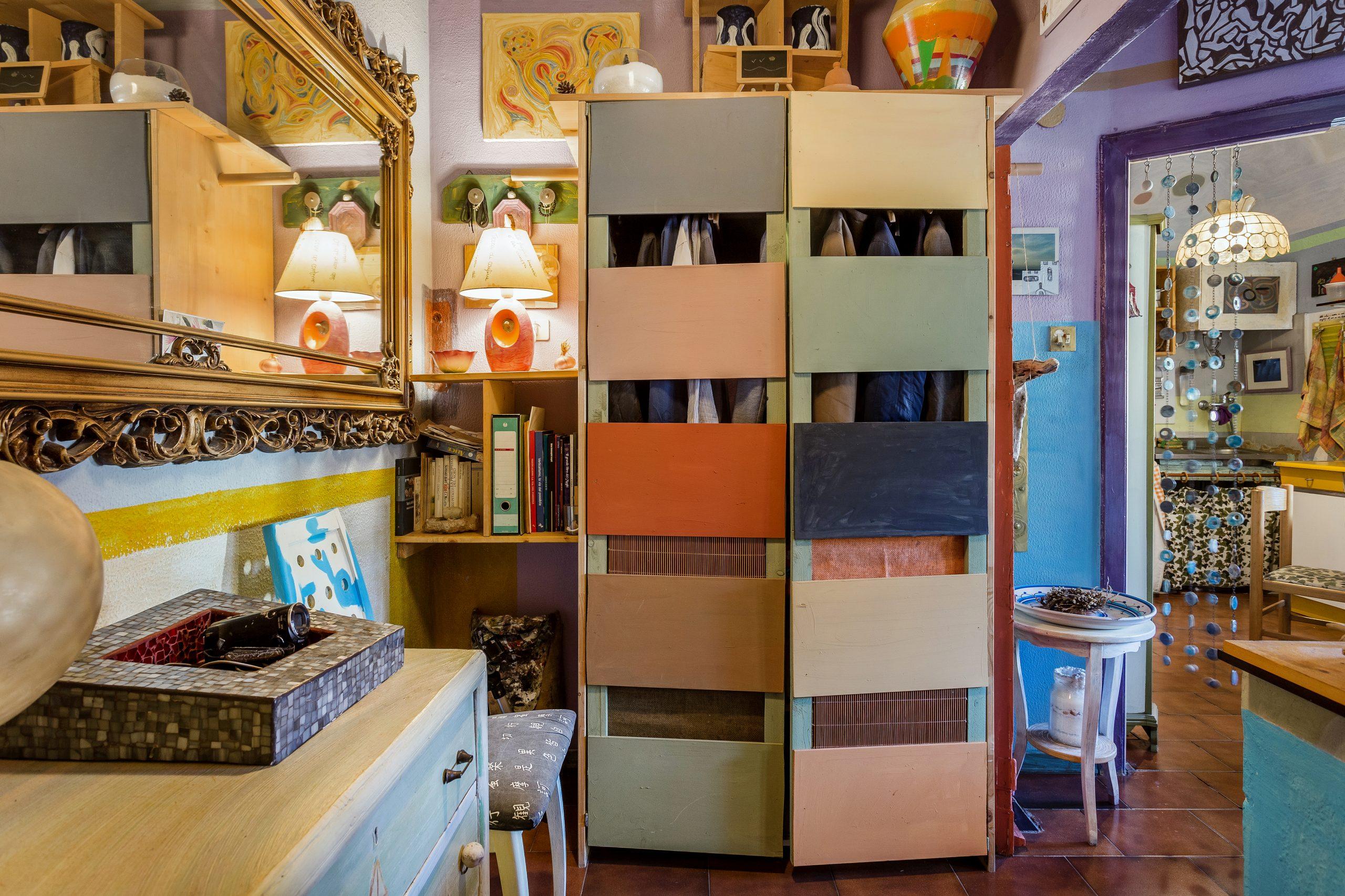 arte invisibile mezzanine living