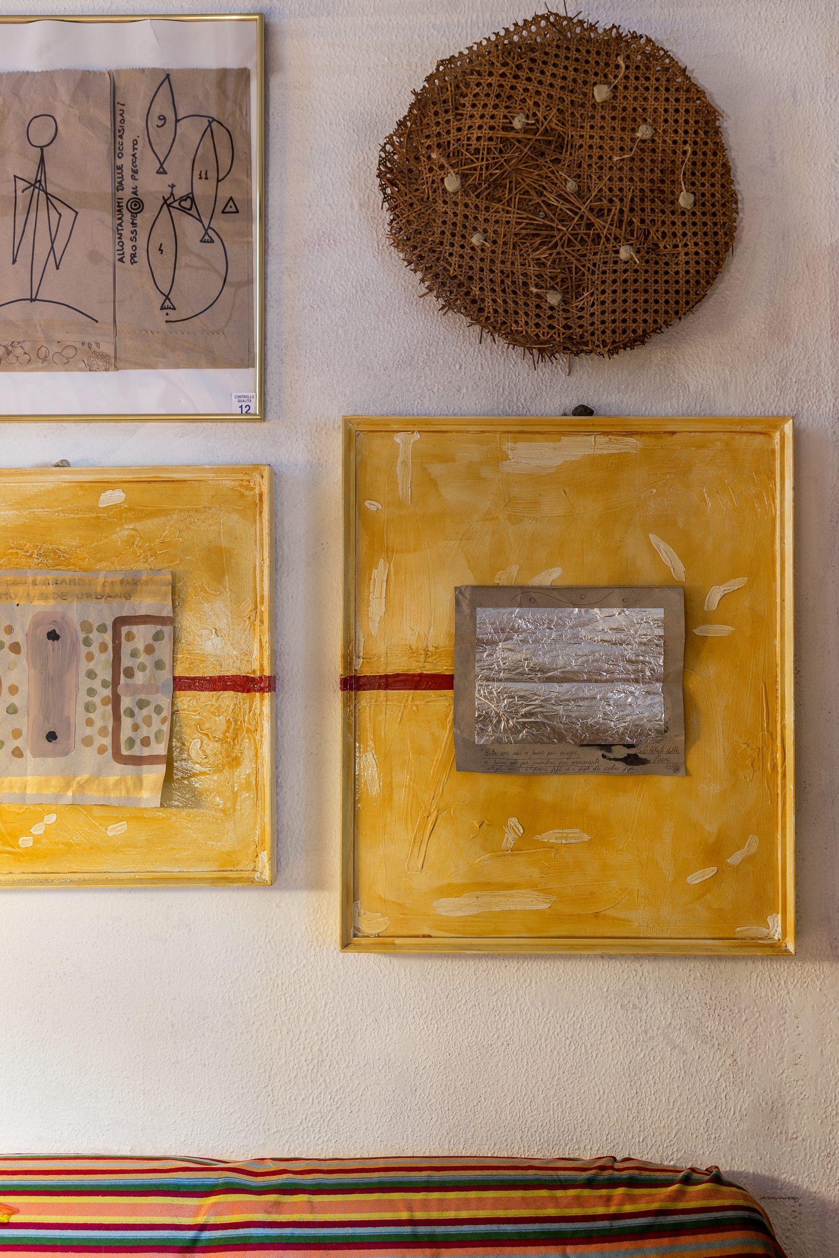 passione casa artista contemporaneo