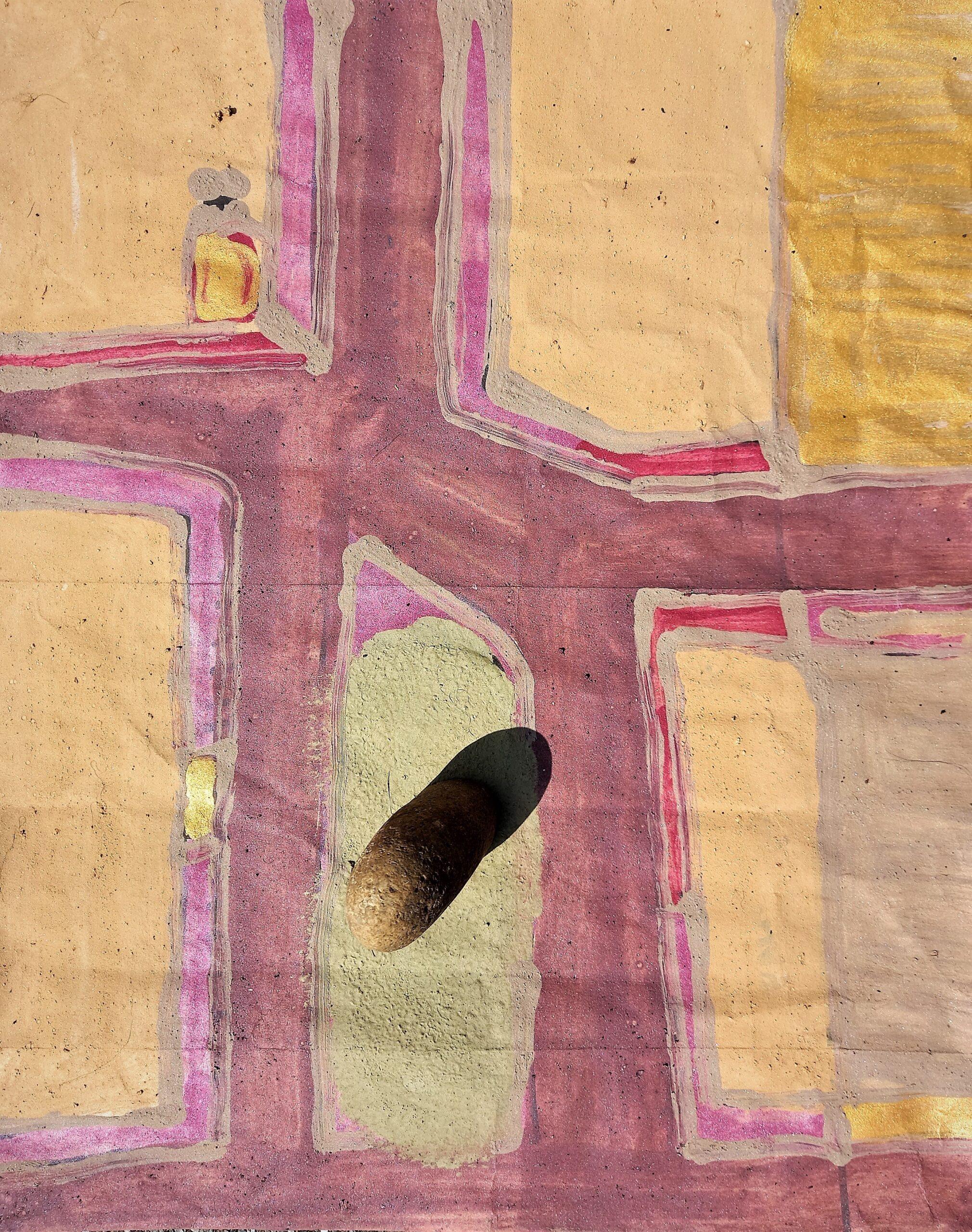 Manifesto Piazza Manganelli, Catania (27/34 cm.)