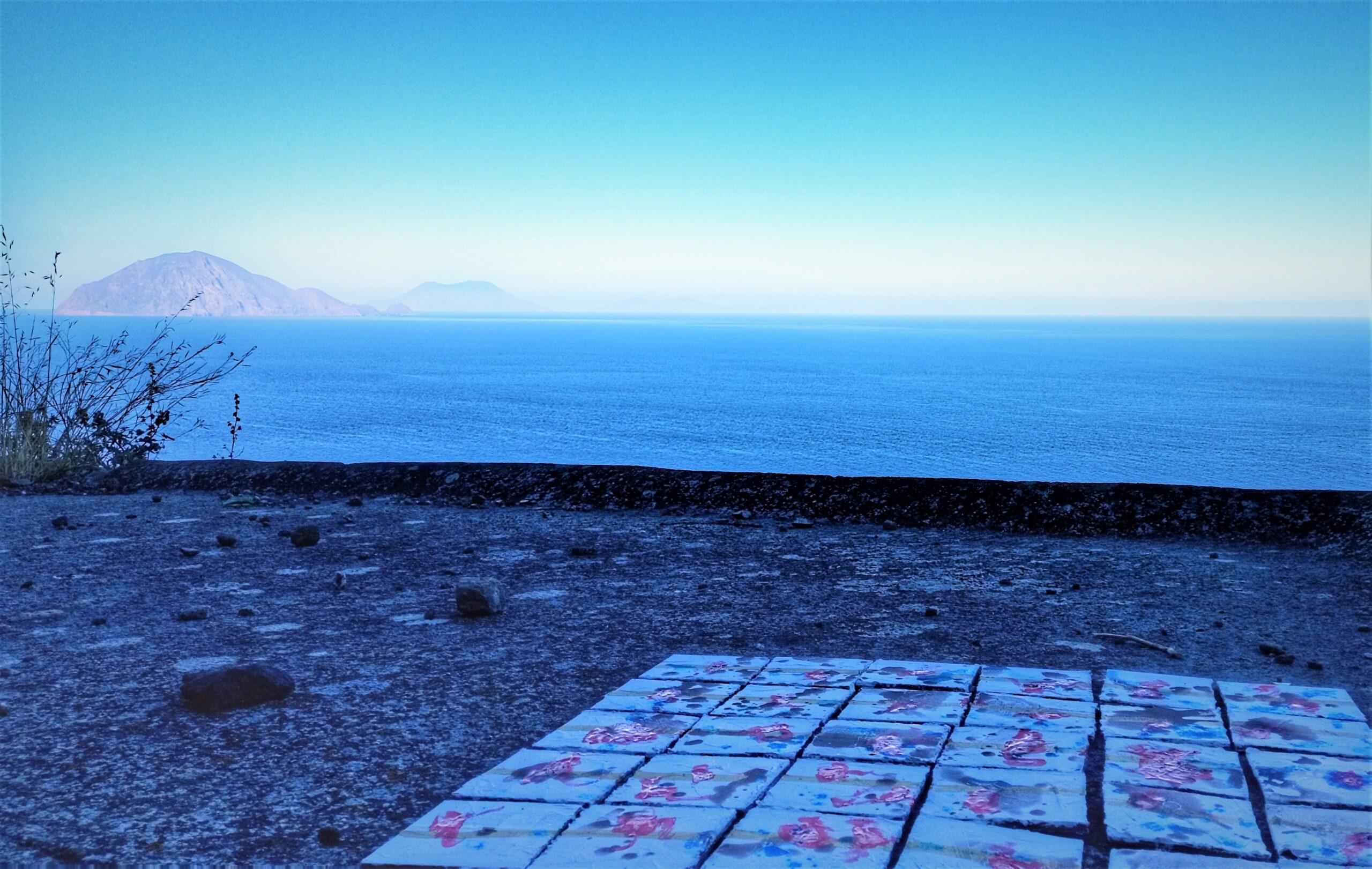 alicudi contemporay artist sicily mediterranean island