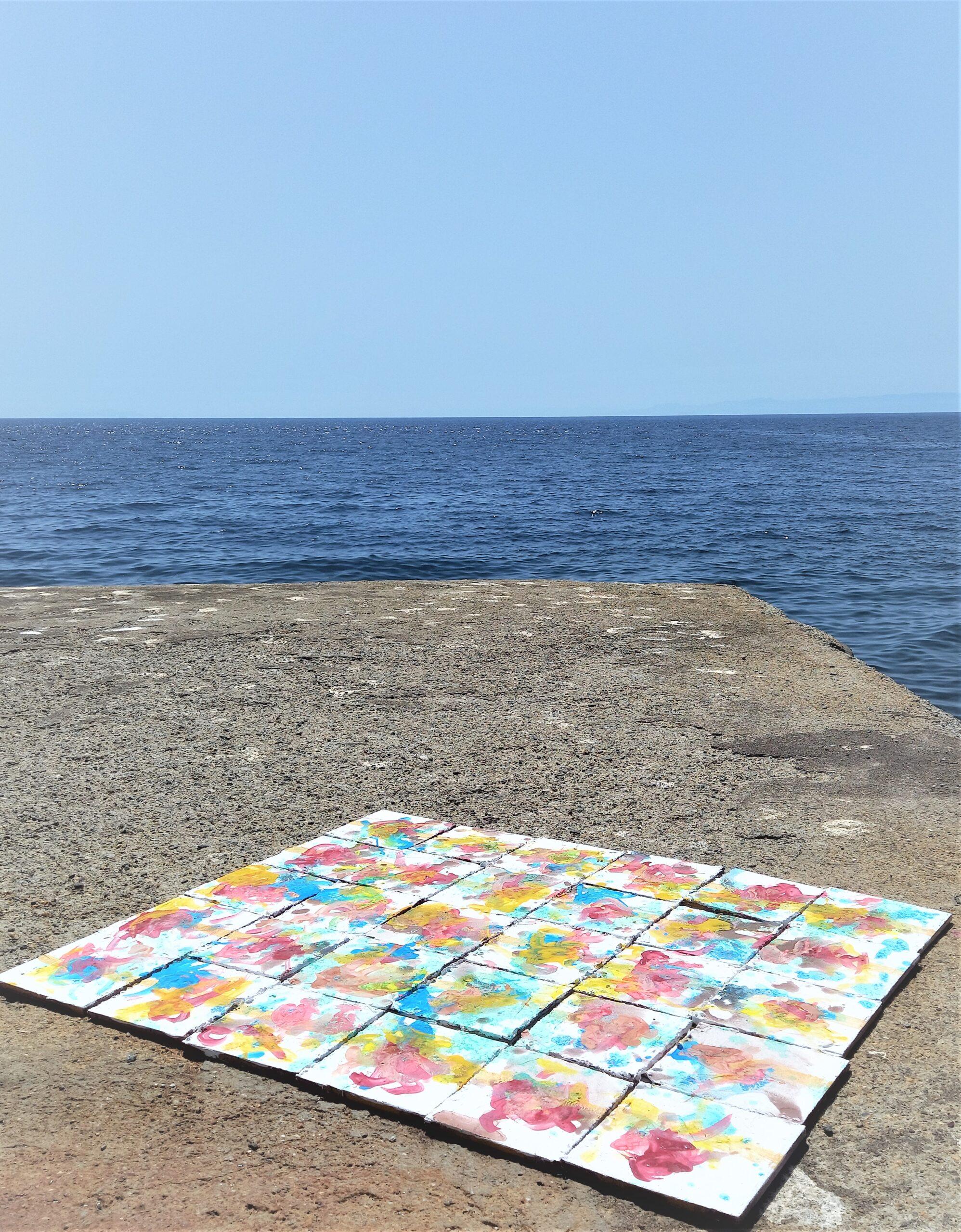 contemporary artist isole eolie alicudi connection isola lachea aci trezza